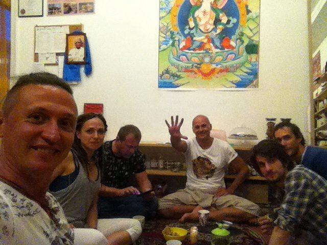 Львов, студия Green Tara, семинар Жени Та'ковского по ригпа-йоге