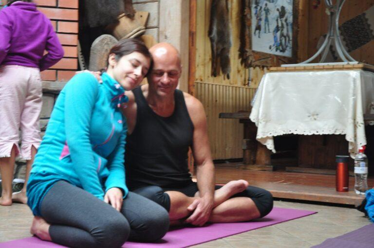Женя Та'ковский в проекте Ригпа-Йога: ритрит по пробужденной медитации в Ворохте