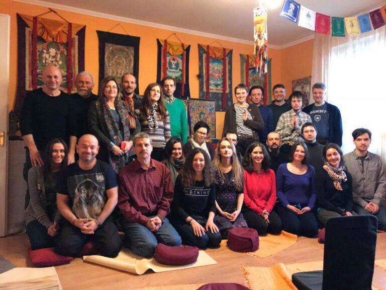 Киев, Дхарма Центр, занятия по Ригпа-Йоге