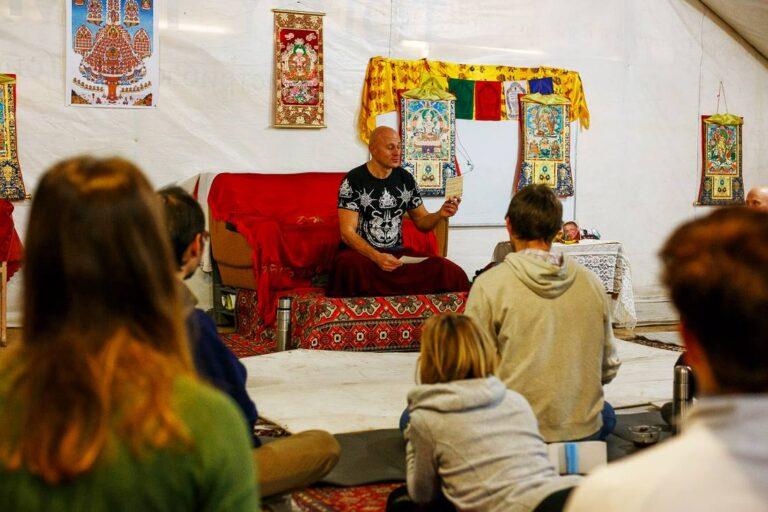 Запорожье, остров Хортица, семинар по Ригпа-Йоге