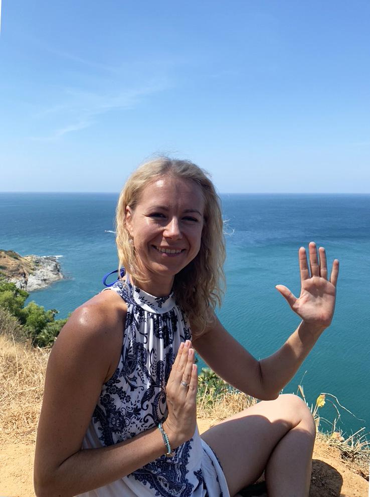Анна Фонтани в проекте Ригпа-Йога